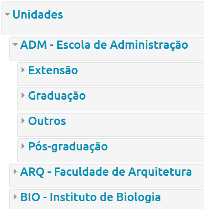 categorias moodle ufba